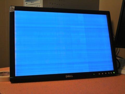 Green Power: Dell Monitor Power Light Blinking Green