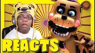FNaF SFM One Place Cg5 Labyrinth by Dexel Animation | Animation Song Reaction