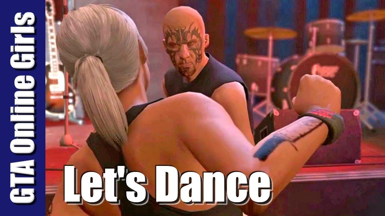 GTA Online Girls | Let's Dance (Rockstar Editor - GTA 5 Online)
