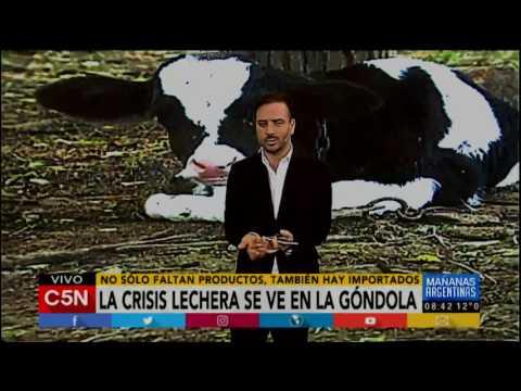 C5N - Agro: Algunos supermercados argentinos importaron manteca de Uruguay. ¿A qué se debe?