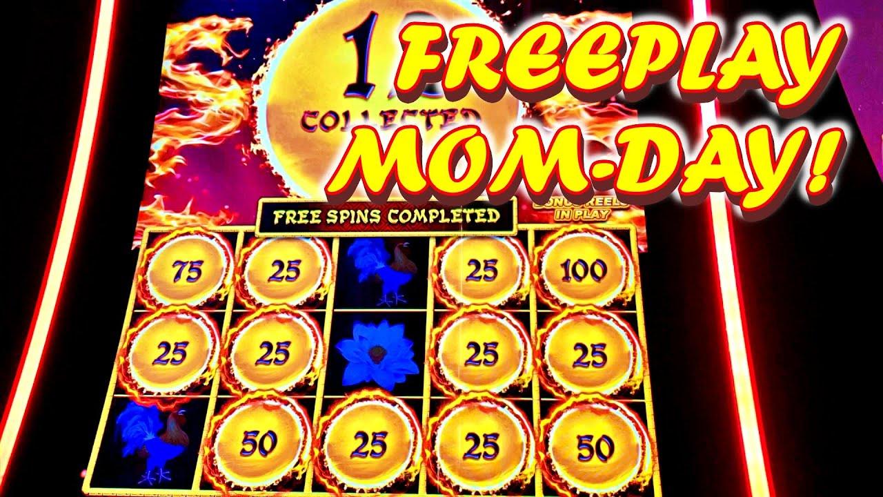 FREEPLAY MONDAY WITH MOM LOW ROLLER!!! * PANDA MAGIC!! - Las Vegas Casino Slot Machine Bonus VLR