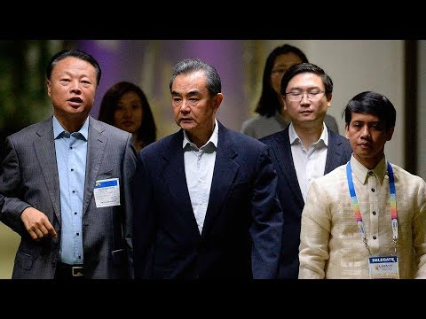 Chinese FM Wang Yi arrives in Manila for meetings with key regional powers