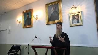 Монах Арсеније - Архитектура душе  -  Лондон [Maj 2018]