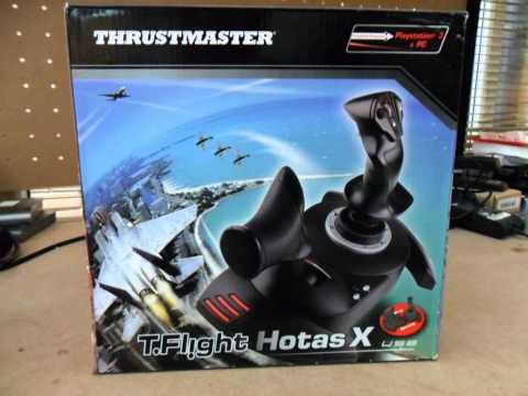 thrustmaster t flight hotas x joystick with detachable throttle control ps3 pc youtube. Black Bedroom Furniture Sets. Home Design Ideas