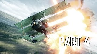 Battlefield 1 Walkthrough Part 4 - Friends in High Places (PC Ultra Let's Play Commentary)