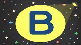 字母 B   The Letter B   筆順動畫