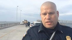 St. Petersburg Fire & Rescue Deputy Fire Marshal speaks on incident at Sunshine Skyway fishing pie
