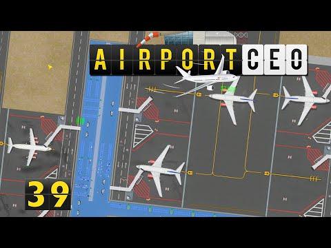 Airport CEO ✈ Flughafenimpressionen ► #39 Flughafen Bau Management Simulation deutsch german