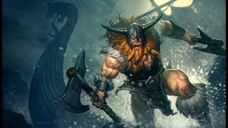 League Of Legends - Gameplay avec Olaf