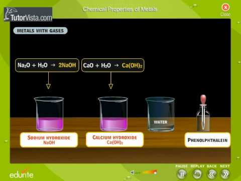 chemical properties of metals youtube