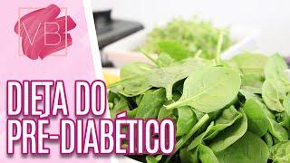 Alimentação Adequada para a Pré Diabetes