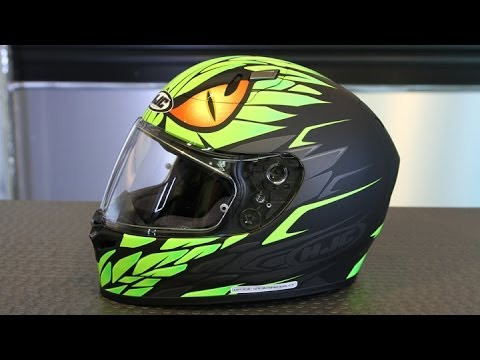 Hjc Fg 17 >> HJC FG-17 Mamba Helmet | Motorcycle Superstore - YouTube