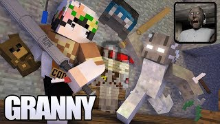 Granny horror game survival (Full part) | Minecraft Animation