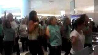 Hello Flash Mob Estee Lauder Galleria Houston Thumbnail