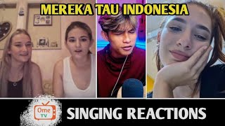 Randy dongseu Singing in France Sweden And Russian   SINGING REACTIONS OmeTV
