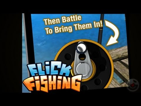 Flick Fishing - IPhone Game Preview