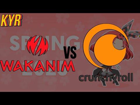 Обзор на Wakanim и Crunchyroll/Что выбрать? + Важная инфа в конце видео