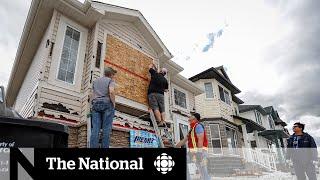 Calgary cleans up after destructive hail storm