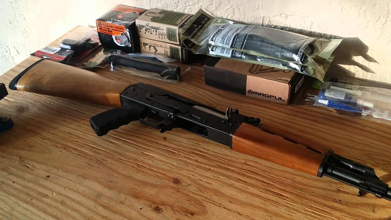 Century Arms Zastava Yugo M70 N PAP AK47 Upgrades