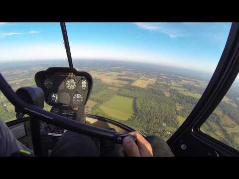 Robinson R22 Helicopter - Student Pilot - Sky Manor - Erwinna Private - Delaware River