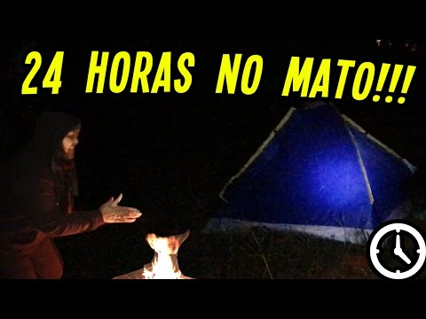 FICAMOS 24 HORAS NA MATA!! (DESAFIO)