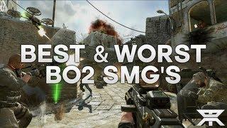 new black ops 2 best worst submachine guns pdw 57 msmc vector k10 chicom cqb gameplay