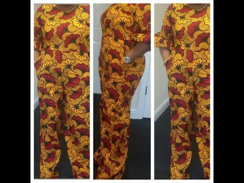 How to make Palazzo Jumpsuit (part 1)
