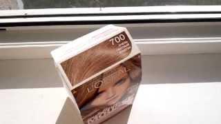 VLOG: эксперимент-покраска волос краской  L'OREAL Sublime mousse 700 оттенок