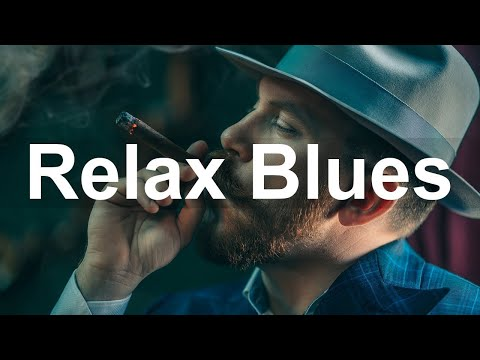 Slow Whiskey Blues Rock - 24/7 Radio - The Best of Relaxing Blues Guitar and Piano Music