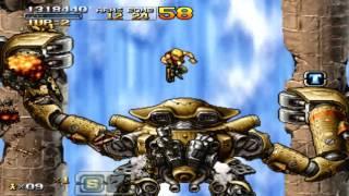 PSP metal slug XX HARD no death ALL clear (MARCO)