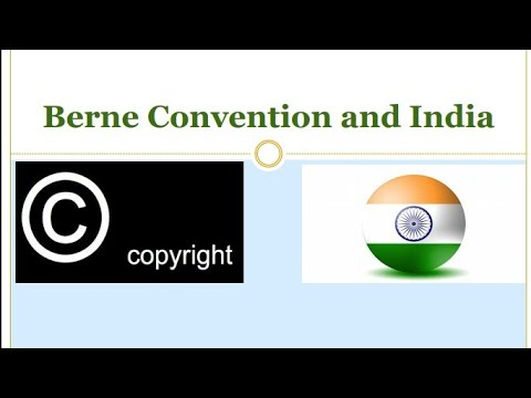 Berne Convention and India || WIPO || UPSC IAS Exam 2019 || Parivartan IAS Academy