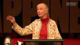 Sowing the seeds of hope with Jane Goodall at Happiness & Its Causes 2014