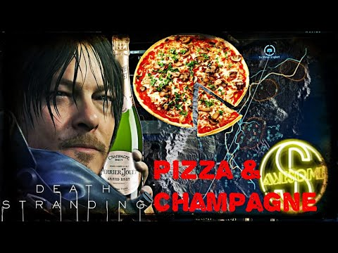 Pizza Delivery (& Champagne) Peter Englert S Rank-Death Stranding |