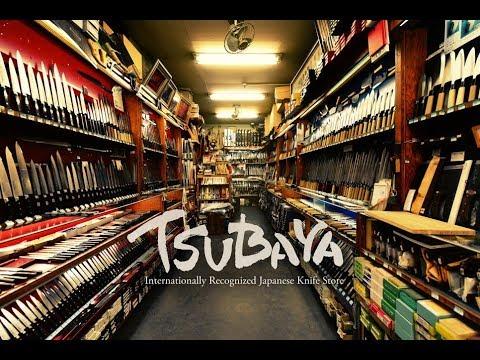 Kappabashi TSUBAYA: Japanese Knife Shopping つば屋包丁