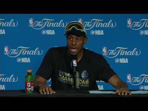 Andre Iguodala NBA Finals Game 5 Press Conference
