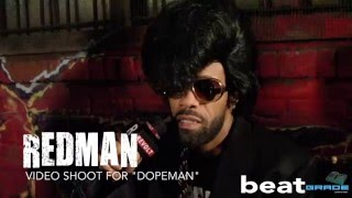 "Redman Interview for New Music Video ""Dopeman"""