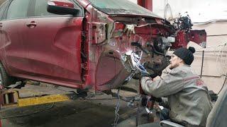 Покупка б/у автомобиля - ищем следы аварии