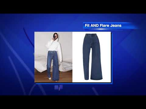Fisher & Mattie in the Morning - Are Asymmetrical Jeans The New Trend?