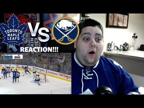 NHL Highlights | Sabres vs Maple Leafs Feb 25, 2019 REACTION!!!