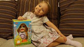 Детская обучающая сенсорная игрушка Утка Play Smart Распаковка и обзор