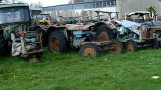 Traktorenfriedhof