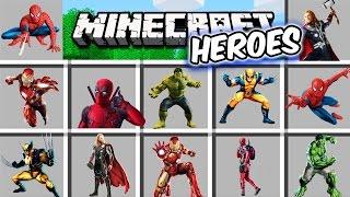 Minecraft - SUPERHEROES MOD - HULK está FURIOSO!! Corran!