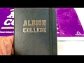 Albion College Moleskine Ruled Pocket Notebook Review
