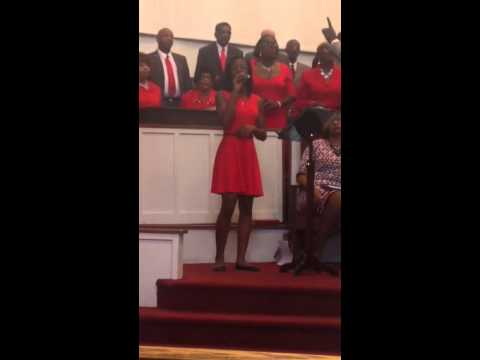 Oh My Soul Loves Jesus~14 year old Eris Goodson soloist