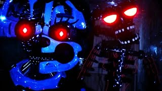 SECRET FULL BODY ENDOSKELETON || FNAF Lost and Found (FREE ROAM Five Nights at Freddys)