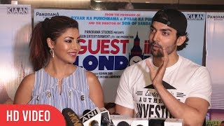 Gurmeet Choudhary And Debina Bonnerjee At Guest Iin London Movie Special Screening