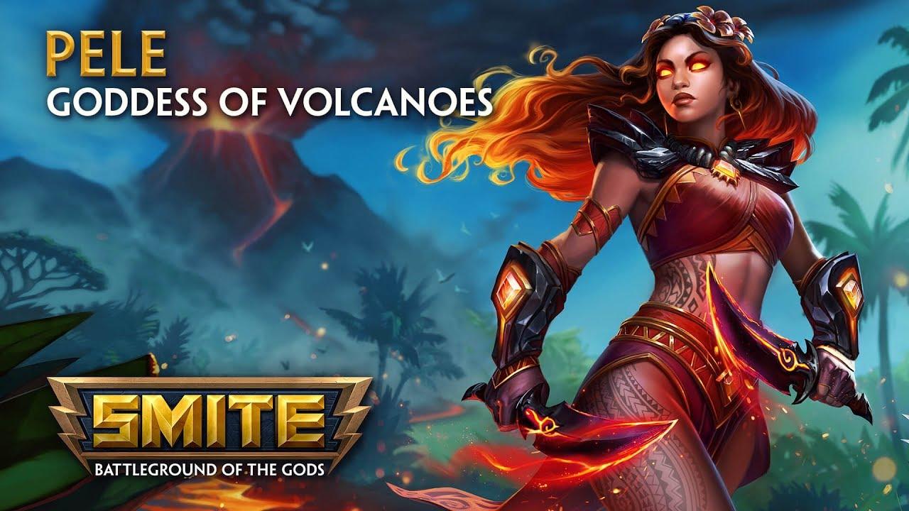 SMITE God Reveal Pele Goddess Of Volcanoes YouTube
