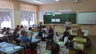 """Урок математики в 4-ом классе по теме: """"Деление суммы на число"""" - программа """"Школа 21 век"""""""