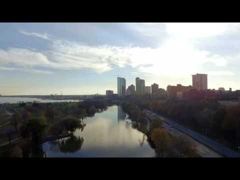 Veterans Park - Milwaukee Lakefront Drone
