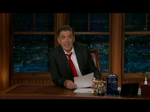 Late Late Show with Craig Ferguson 4/17/2012 Kevin Kline, Alice Eve